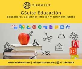 G Suite para Educación | Sitio Web Colegios