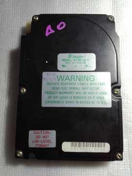 Disco Rigido Retro Coleccionistas Seagate ST351A/X 40MB