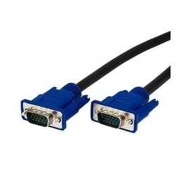 Cable Vga Macho A Macho Para Monitor Proyector 3m Con Filtro