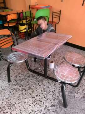 Fabrica de muebles sillas mesa sofá puff butáco barra vip  para restaurante bar cafetería panadería