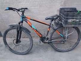 Vendo bicicleta de aluminio de aro 29