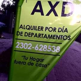 AXD. Alquiler por días
