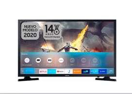 Televisor de 32 Pulgadas Samsung Smart año 2020 nuevo factura y garantia de 18 meses BLUETOOTH WIFI TDT2 HDMI óptico