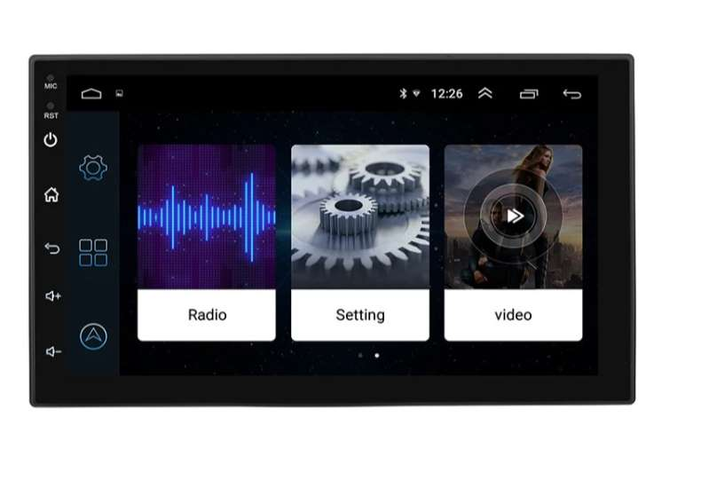 Equipo Radio Carro Android 8.1 Gps Wifi 16g Bluetooth Usb Fm 0