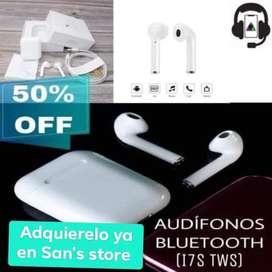 Audífonos Bluetooth I7S Tws en Promoción