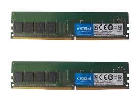 Memoria RAM Micron Crucial 8GB (2X4GB) PC4-17000 DDR4-2133MHz