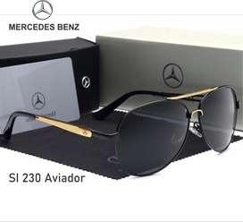 Lentes Mercedes SI 320 Aviador polarizado HD con proteccion UV400