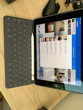 Ipad Pro 9.7, 128 Gb, Lte + apple pencil + cover + tapa + cargador