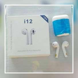 Audifonos inalambricos i12. Compatible para cualquier celular. Nuevos