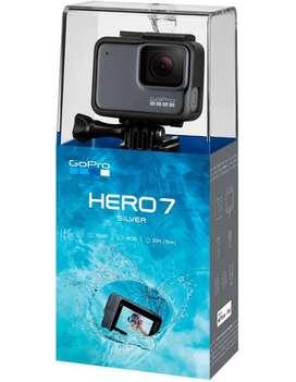 GoPro Hero 7 Silver  Nueva 4k Sellada TARJETA CREDITO