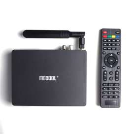 Tv Box Mecool K7 Ram 4/64gb Triple Decodificador Tdt/t2/s2/c