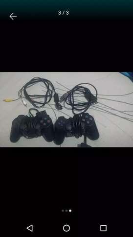 Vendo controles de play 2 y cables