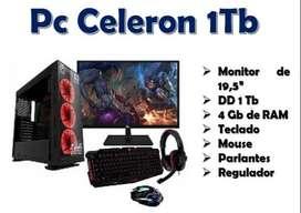 Pc Celeron de 1Tb