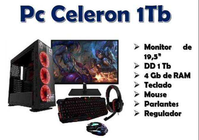 Pc Celeron / 1Tb 0