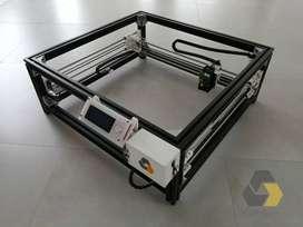 Cortadora láser CNC 15W 450X450 [mm]