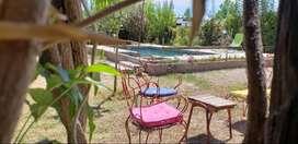 Alquilo casa con pileta en Lujan de Cuyo Mendoza