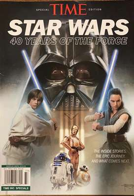 Revista de star wars 40 años de la saga
