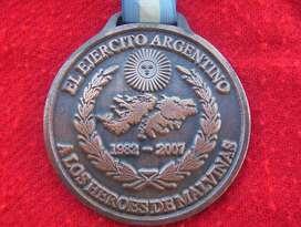 Distinción 25 Aniversario Veteranos Malvinas VGM de Coleccion