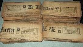 PERIODICO LE MATIN AÑO 1939