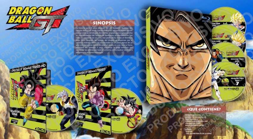 Dragon Ball Gt Anime Hd 720p Completa Latino 0