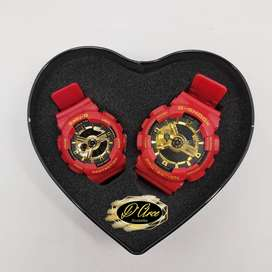 Pareja Reloj G-Shock