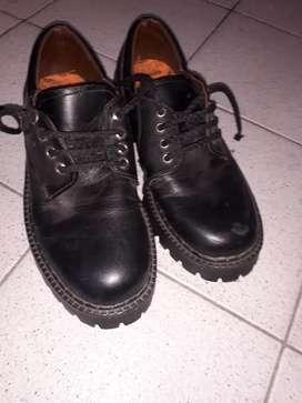 Zapato mocasin negro n.34