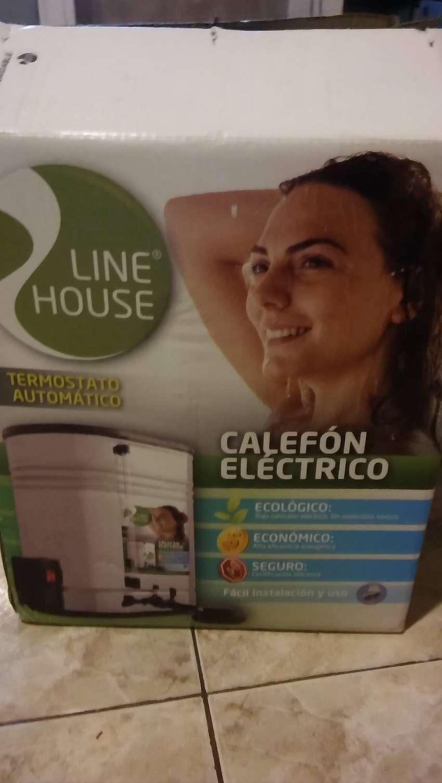 CALEFON ELECTRICO para ducha. 0