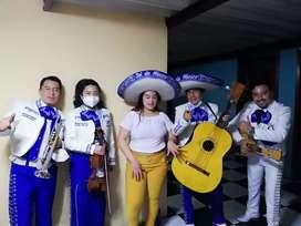 Anuncio real, mariachi Sol de México en Quito sur