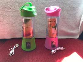 Licuadora portatil jugos y verduras , recargable por usb y celular