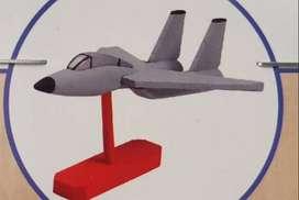 Juego Niños Kit Modelo Madera Pintar Aviación Rompecabezas