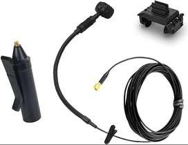 HEIMU - Micrófono con pinza de sujeción