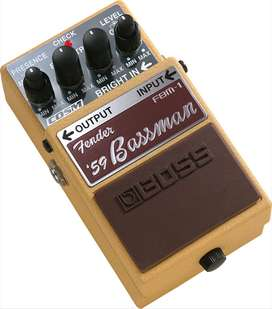 Pedal Boss FBM-1 Music Box Colombia Guitarra Electrica ´59 Bassman