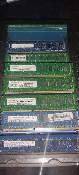 Memoria Ram ddr3 de 4gb 1333 Pc