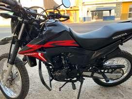 Vendo moto HONDA XR 190