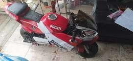 Se vende mini moto 850 negociable