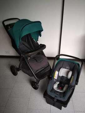 Coche + silla carro marca Evenflo