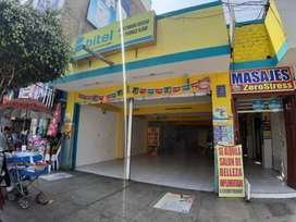 Local Comercial de 120 m2 en Chimbote Centro.