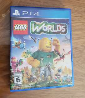Juego  PS 4 Lego Worlds