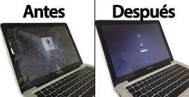 Pantallas para Laptop  Hp, Lenovo, Asus, Toshiba, Sony, Acer