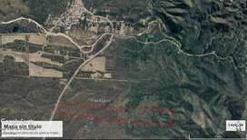 50 Has en zona de Papagayos sobre Ruta 1, Provincia de San Luis. Ubicado entre la ruta y la sierra.
