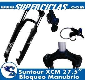 Suspension XCM bloqueo manubrio rin 27.5