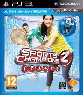 JUEGO FISICO PLAY 3   SPORTS CHAMPIONS 2