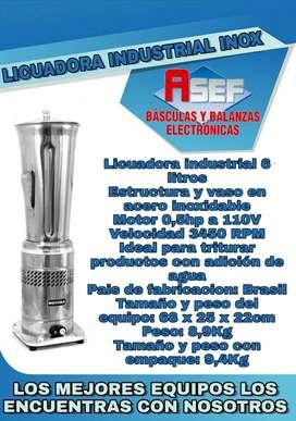 Licuadora Industrial CRUSH-6 LITROS