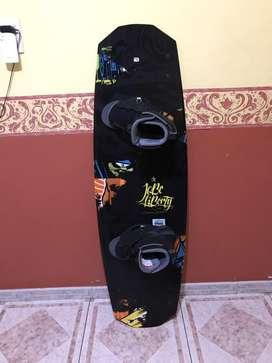 Tabla de wakeboard Jobe Liverty + botas O,brien Link