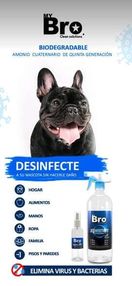 Desinfectante para mascotas y personas