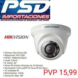 CAMARAS DE SEGURIDAD HIKVISION HD