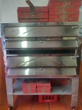 Vendo horno pizzero y mesa de trabajo