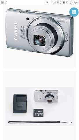 Cámara Canon POWER SHOT ELPH150IS, casi nueva con 04 usos.