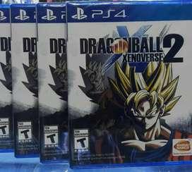DRAGON BALL XENOVERSE 2 PS4 SELLADO STOCK