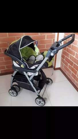 Carreola y porta bebé marca chicco